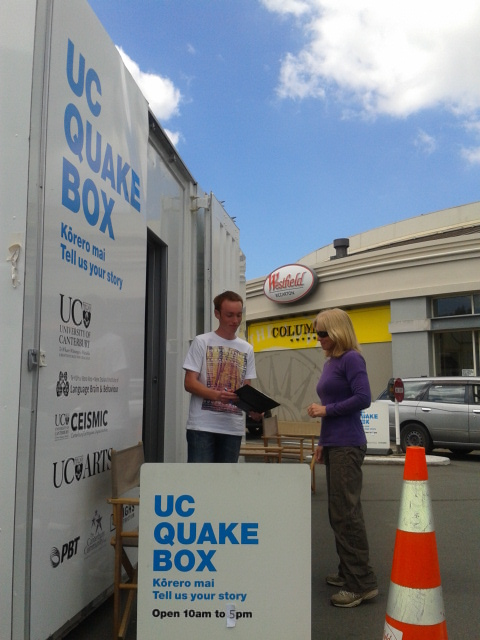 Quakebox in Riccarton