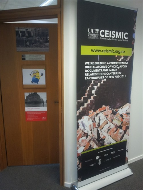 UC CEISMIC entrance