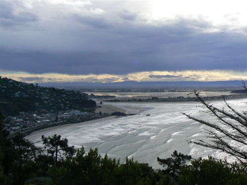 Looking towards the Estuary before the earthquakes