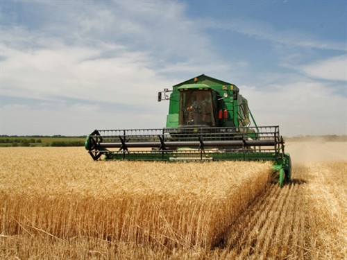 Image of harvester